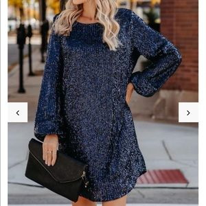 Vici sequin dress